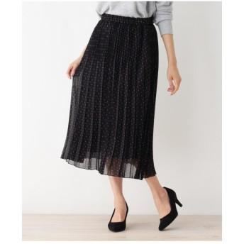 幾何ドットスカート