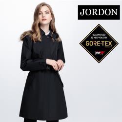 【JORDON 橋登】 女款GORE-TEX 3 LAYER 長版時尚風衣(1954)