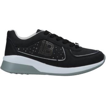 《セール開催中》LAURA BIAGIOTTI レディース スニーカー&テニスシューズ(ローカット) ブラック 36 紡績繊維