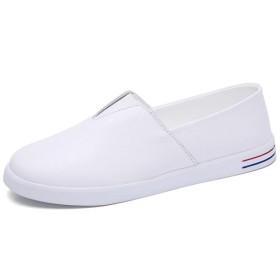 [HSFEO] モカシン レディース パンプス フラットシューズ サボ ママシューズ 厚底靴 カジュアルシューズ スリップオン ウォーキング ぺたんこ ホワイト ブラック 疲れない 歩きやすい オフィス