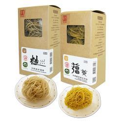 源順 養生有機米糆條6盒(薑黃糙米糆條+糙米糆條各3盒(3粒入/盒),共18粒入)