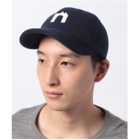 nano・universe KNOX/別注ワッペンフリースキャップ(ネイビー)