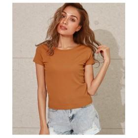 【ANAP】バッククロスタイトTシャツ