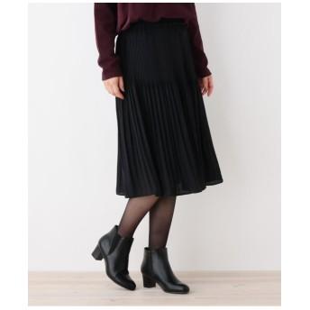 【セレモニー対応】サテンプリーツスカート