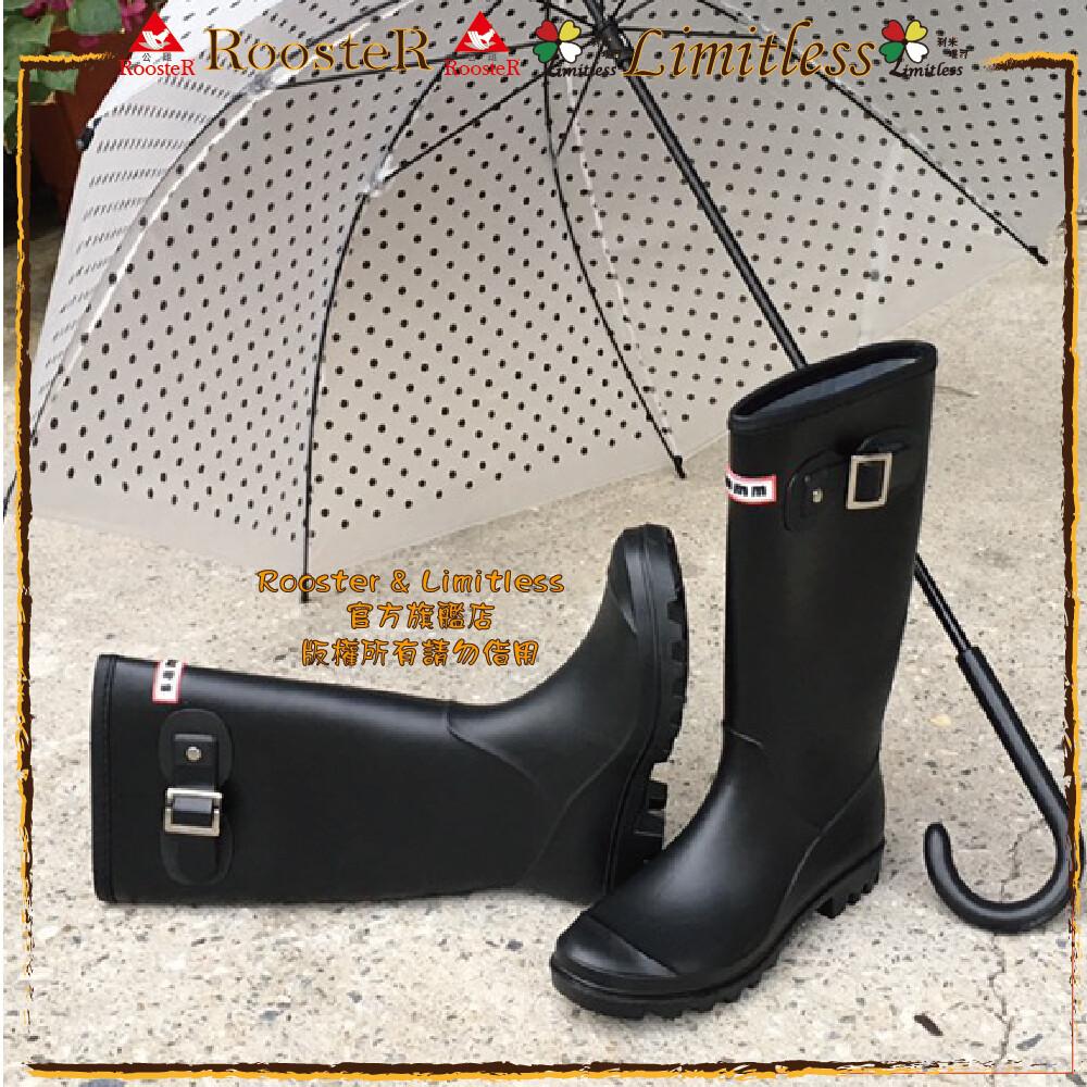 時尚流行雨靴 韓版長筒雨靴 一體成型  防水長靴 雨鞋