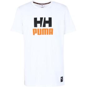 《セール開催中》PUMA x HELLY HANSEN メンズ T シャツ ホワイト S コットン 100% x HH Tee