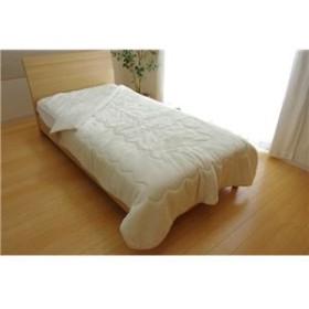 毛布 セミダブル 洗える 寝具 抗菌 消臭 無地 旭化成 トップサーモ 2枚合わせ毛布 『17フランIT』 アイボリー 約160×200cm