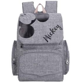 バックパック女性ファッションミイラバッグ多機能母子バッグショルダーバッグから大容量ショルダーバッグハンドバッグLJQEDCM-lightgray