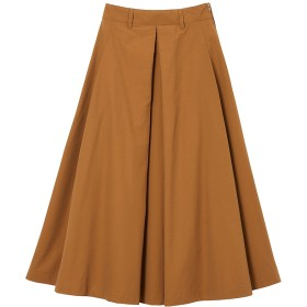 SOLID TUCKED SKIRT