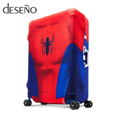 Marvel 漫威英雄造型防刮彈性行李箱套-蜘蛛人(L)