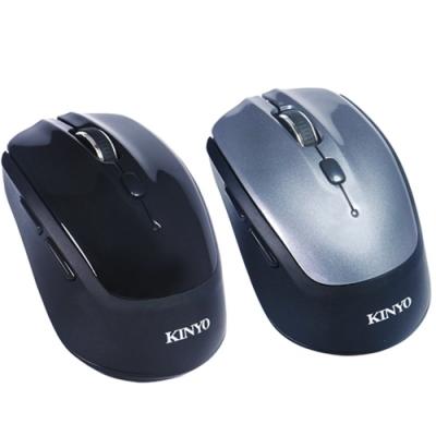 KINYO 無所拘束 藍牙3.0雙模 2.4G 滑鼠 GBM1820