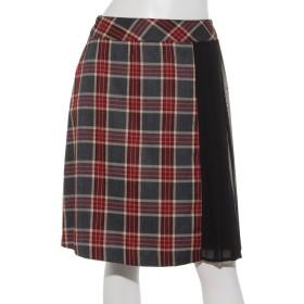 【LD prime】プリーツ×配色台形スカート(8L10-10050)