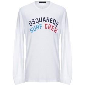 《セール開催中》DSQUARED2 メンズ T シャツ ホワイト XL 100% コットン