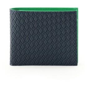 マルチカラー2つ折り財布 [ 財布 二つ折り カラフル ]
