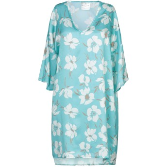 《セール開催中》MICHELA MII レディース ミニワンピース&ドレス ライトグリーン one size ポリエステル 100%
