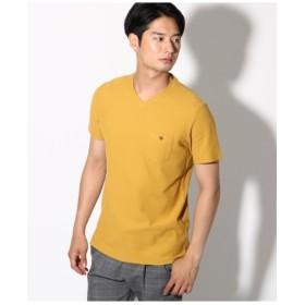 【吸水速乾】【セオアルファ糸採用】VネックTシャツ