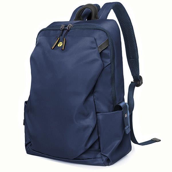 【男包】後背包 電腦包 TANGCOOL 大前袋雙拉鏈 商旅兩用包/寶石藍