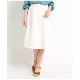 【洗える】フラワージャカードスカート