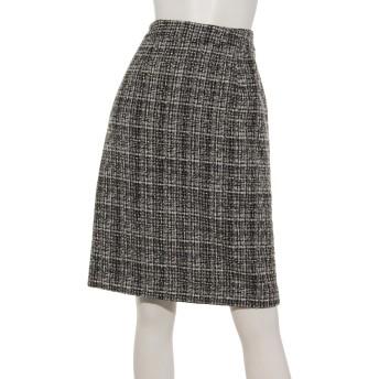 ロイヤルラメツイードタイトスカート