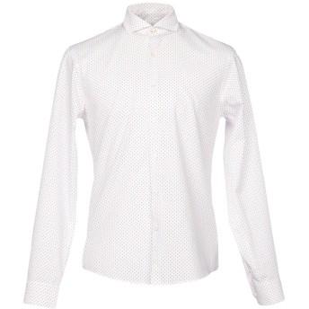 《セール開催中》SINK OR SWIM メンズ シャツ ホワイト M コットン 100%