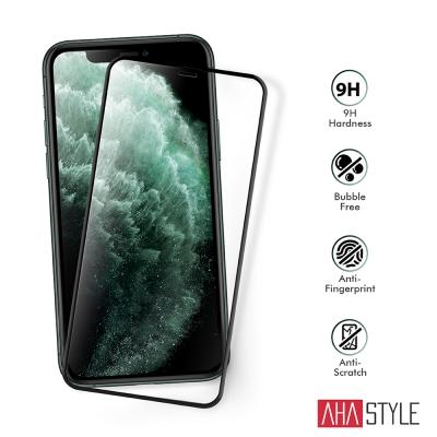 AHAStyle iPhone 11 Pro 2.5D強化玻璃保護貼 -附贈快速貼膜輔助殼