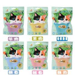 CatFeet 呼嚕最愛_薄荷化毛潔牙餡餅 60g 共6種口味 X 12包