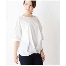 【洗濯機で洗える】袖ねじりブロードシャツ
