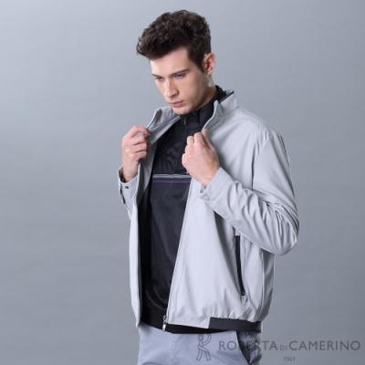 ROBERTA諾貝達 簡約時尚夾克外套 淺灰