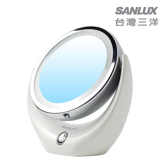 台灣三洋 LED五倍放大美妝鏡 SYKS-MR01 免運
