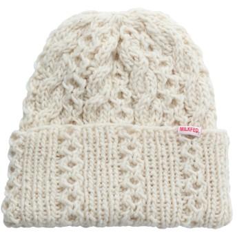 CABLE KNIT CAP