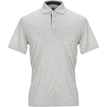 《セール開催中》MONTECHIARO メンズ ポロシャツ グレー 52 コットン 100%