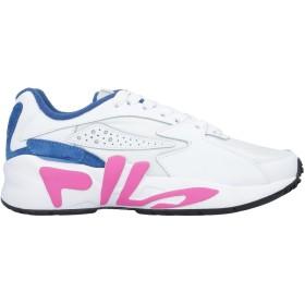 《セール開催中》FILA レディース スニーカー&テニスシューズ(ローカット) ホワイト 36 革 / 紡績繊維