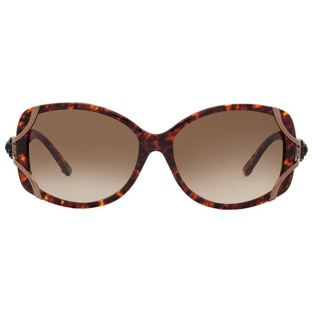 【ANNA SUI 安娜蘇】復古時尚經典玫瑰造型太陽眼鏡(琥珀) -AS845167)
