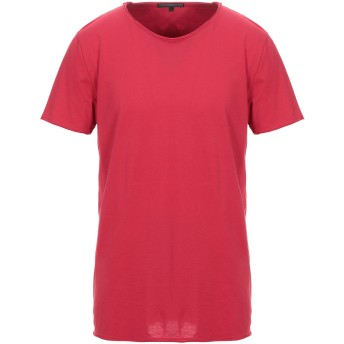 《セール開催中》DRYKORN メンズ T シャツ レッド L コットン 100%