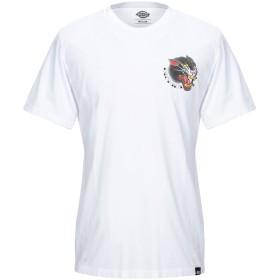《セール開催中》DICKIES メンズ T シャツ ホワイト S コットン 100%