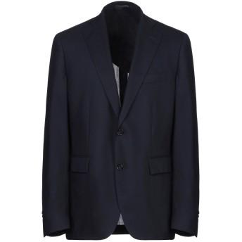 《セール開催中》ANGELO NARDELLI メンズ テーラードジャケット ダークブルー 52 バージンウール 100%