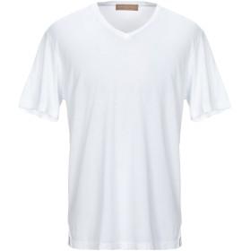 《セール開催中》DANIELE FIESOLI メンズ T シャツ ホワイト XL コットン 100%
