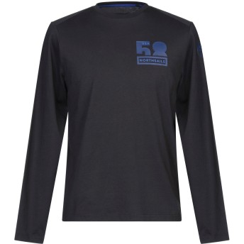 《セール開催中》NORTH SAILS メンズ T シャツ ブラック S コットン 100%