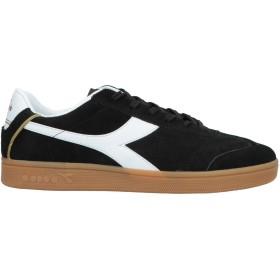 《セール開催中》DIADORA メンズ スニーカー&テニスシューズ(ローカット) ブラック 5 革 / 紡績繊維