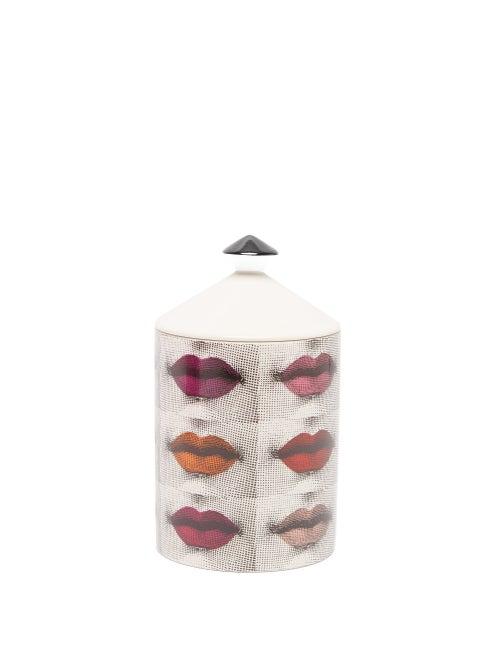 Fornasetti - Rossetti Flora-scented Candle - White Multi