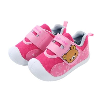 魔法Baby 女童 台灣製拉拉熊授權正版護趾防撞戶外休閒鞋 sk0903