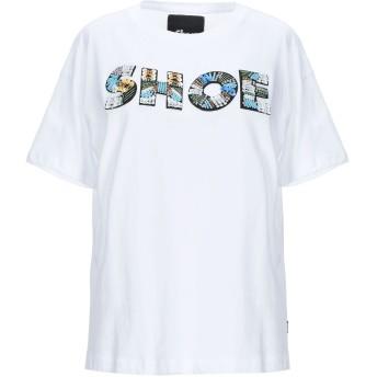 《セール開催中》SHOESHINE レディース T シャツ ホワイト S コットン 100%