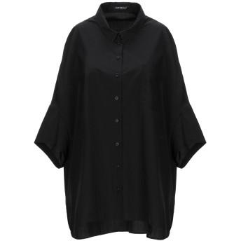 《セール開催中》RUNDHOLZ レディース シャツ ブラック M コットン 100%