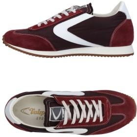 《セール開催中》VALSPORT メンズ スニーカー&テニスシューズ(ローカット) ボルドー 40 紡績繊維 / 革
