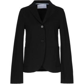 《セール開催中》HARRIS WHARF LONDON レディース テーラードジャケット ブラック 40 コットン 100%