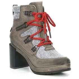 [ソレル] シューズ ブーツ・レインブーツ Blake Lace Up Leather & Felt Block Heel Quarry レディース [並行輸入品]