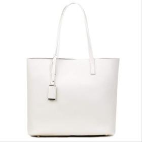 新しいファッションレディースショルダーバッグ高級ハンドバッグデザイナー puハンドバッグレディース ベージュ 34cm