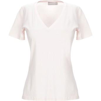 《セール開催中》GIRELLI BRUNI レディース T シャツ ライトピンク 40 コットン 100%