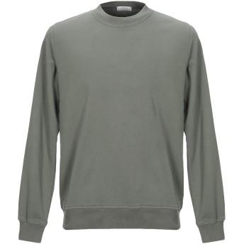《セール開催中》ORIGINAL VINTAGE STYLE メンズ スウェットシャツ ミリタリーグリーン S コットン 100%
