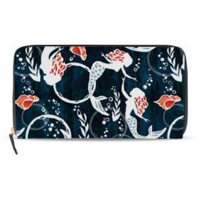 財布 ウォレット ジッパー財布 キーケース 小銭入れ ロングバッグ コインケース スマートコインケース ガマ口財布 収納袋 美しい 人魚 大容量 耐久性 ユニセックス 持ち運びが簡単 ファッション パーソナライズ